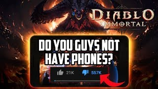 "Blizzard's Diablo Immortal Disaster | ""Do You Guys Not Have Phones?"""