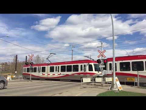 Heritage Drive CTrain Crossing, Calgary, AB