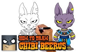 How to Draw Beerus | Dragon Ball Z