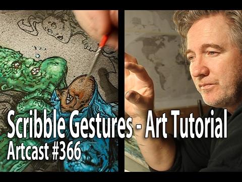 Gesture Drawing Technique - Art Tutorial