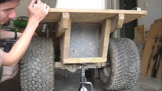 Off Road Lawn Mower Spring TuneUp