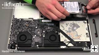 MacBook Pro Unibody HD vervangen door SSD