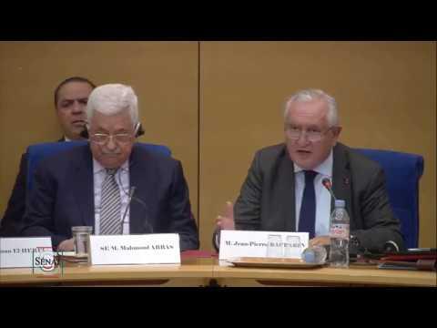 Mahmoud Abbas (Complet) devant la Commission des affaires étrangères
