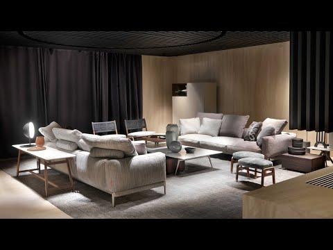 Flexform и Flexform By Mood. Итальянская мебель, мягкая мебель, аксессуары. ISaloni 2019