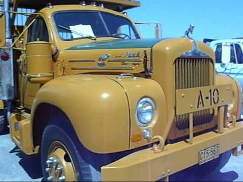 1956 Mack Logging Truck Youtube