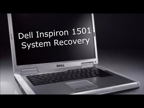 Dell Inspiron 1501 (2006) - System Recovery