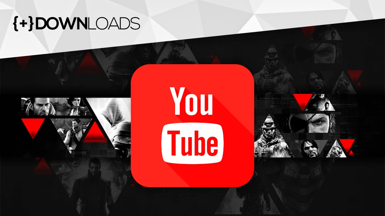 Capa Do Youtube 2048x1152: CAPA Para Canais GAMERS Do YouTube [GRÁTIS