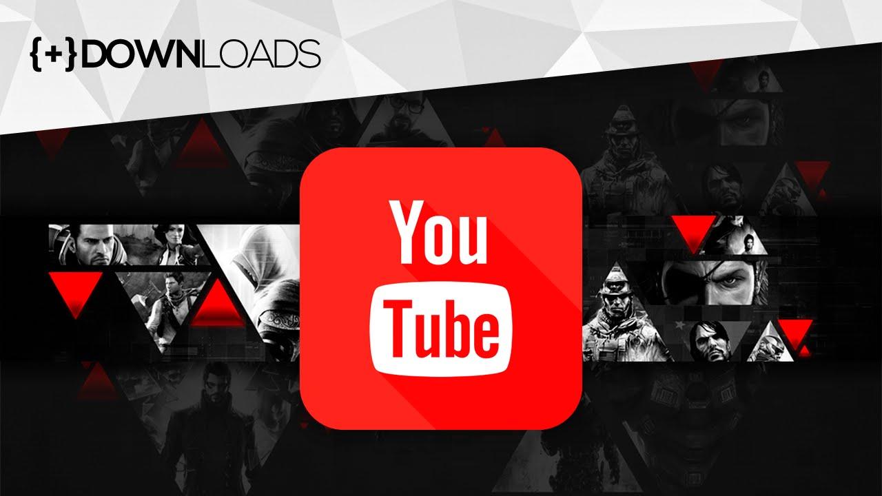 Capa De Youtube 2048x1152: CAPA Para Canais GAMERS Do YouTube [GRÁTIS