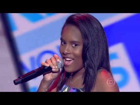 Bela Maria canta 'Não Vá Embora' no The Voice Kids - Audições|1ª Temporada