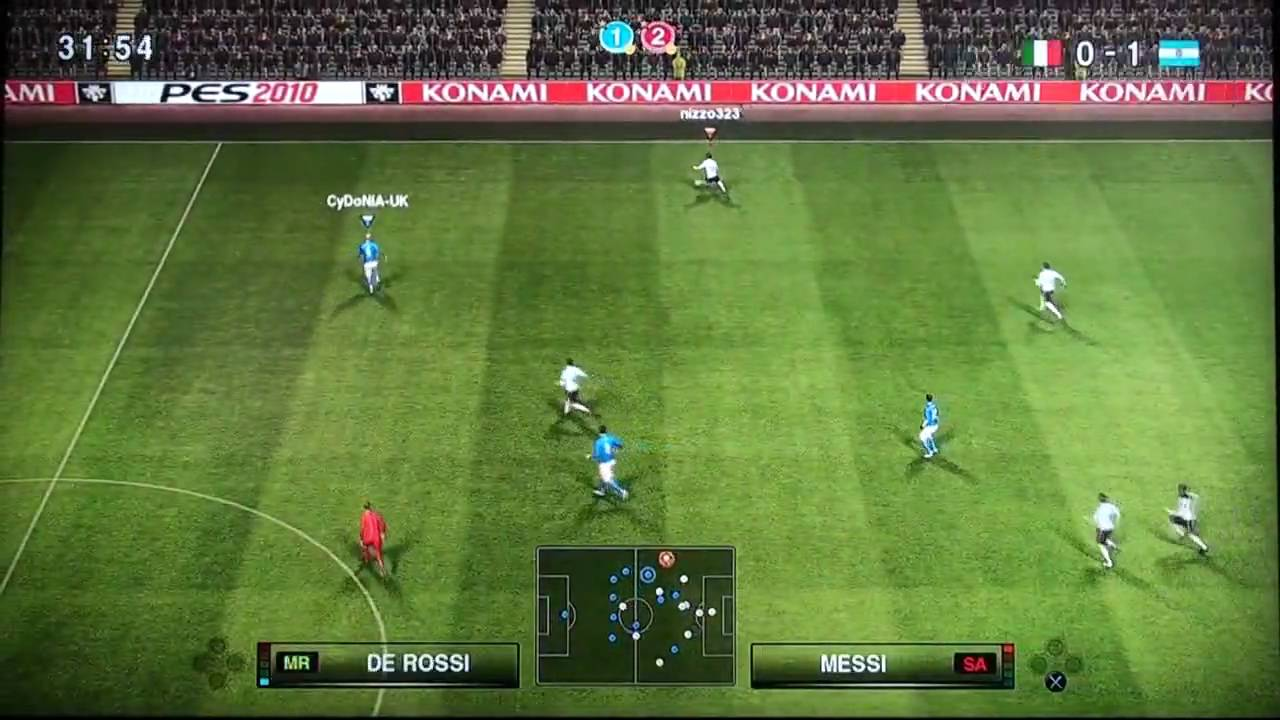 Pro Evolution Soccer 2010 [PES 2010] - Download game PS3 PS4 RPCS3