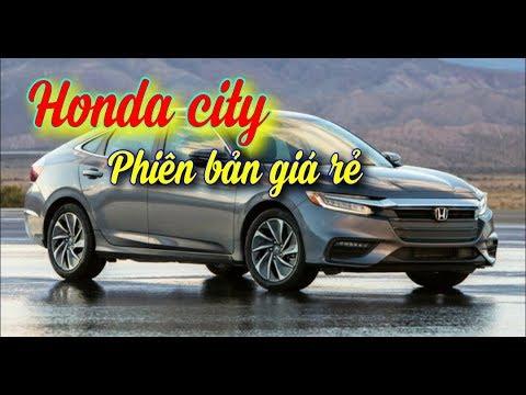 Honda City ra mắt phiên bản giá rẻ chỉ 529 triệu