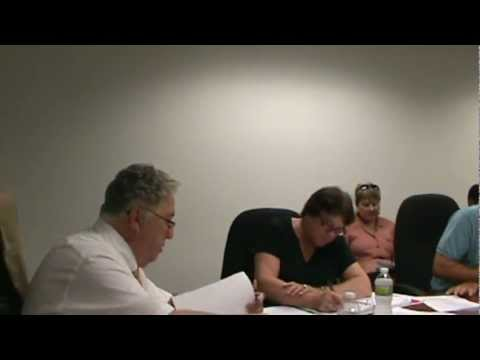 Salem County Improvement Authority Meeting July 23 2012 part 1 of 3