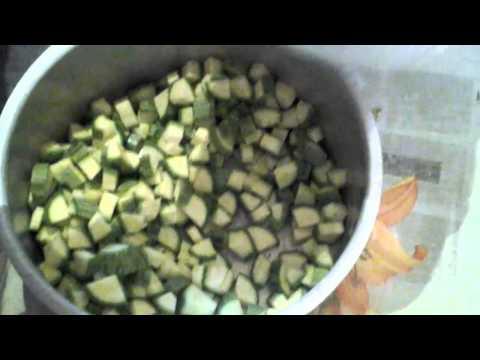 Conservation des courgettes doovi - Comment congeler des aubergines ...