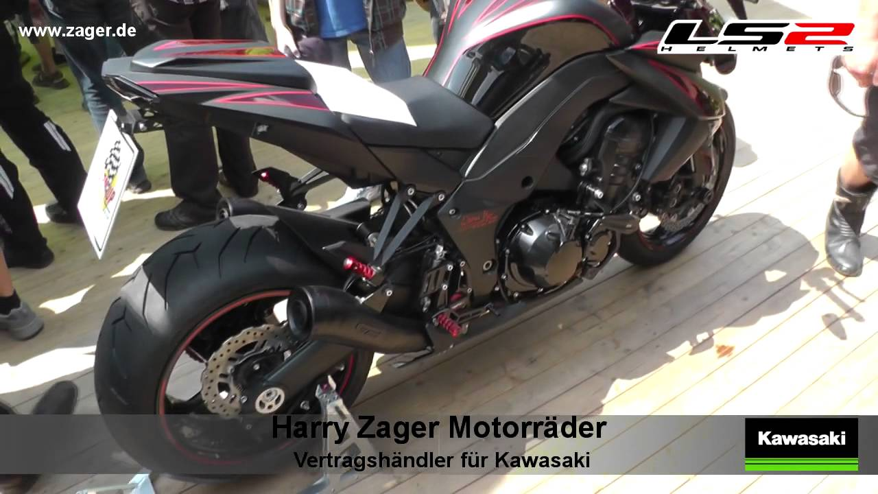 Kawasaki Z1000 Umbau Custom Racing Sachsenring 2013