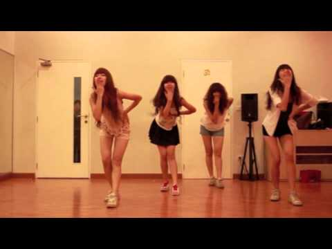Olives -  ไม่ได้ยิน - Rehearsal Dance Version at Monkey Town Dance Academy