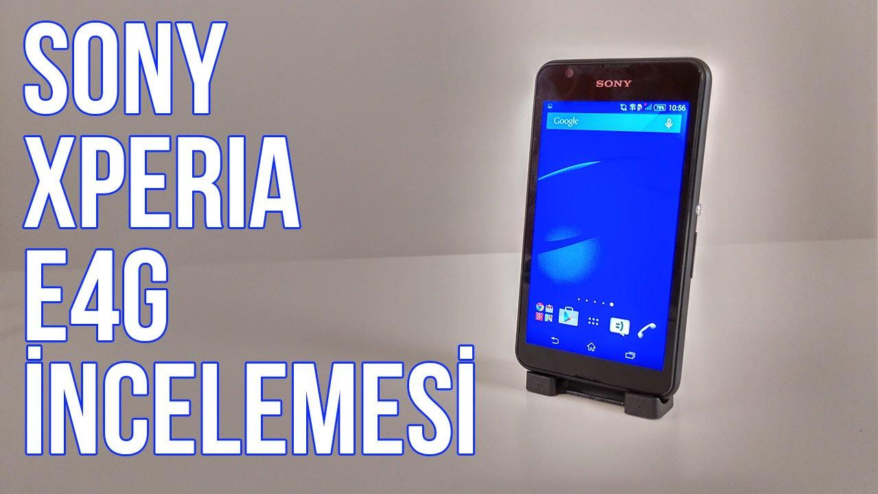 Sony Xperia E4g İncelemesi