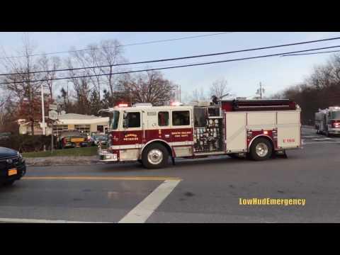 South Salem FD Engine 166 + Tanker 2 + Engine 167 Responding