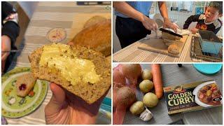 일본식카레/곡물빵 만들기