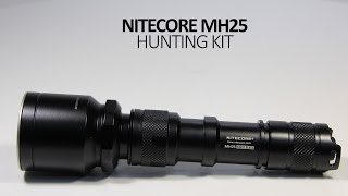 видео Фонарь Nitecore P16 HUNTING KIT (1000 люмен)
