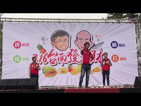 林佳新 謝龍介農漁推廣會 佳里公園 2019年3月9日