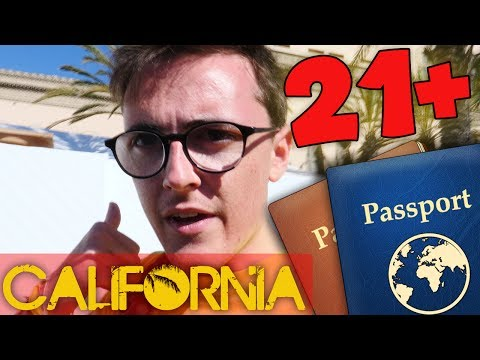 MI SONO INFILTRATO IN UN PARTY OVER21 - California Diaries #2