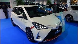 2018 Toyota Yaris Hybrid - Exterior and Interior - Auto Zürich Car Show 2017