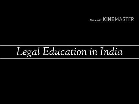 Legal Education in India / Professional Ethics.