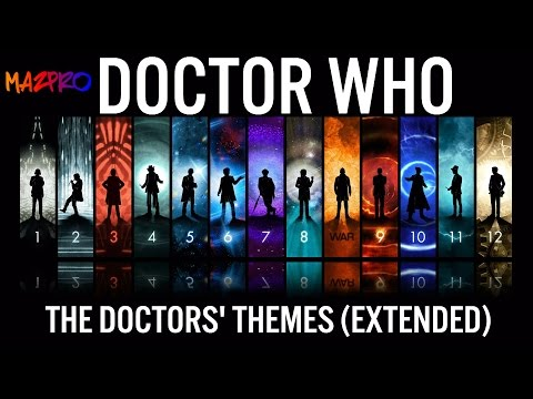 Doctor Who: The Doctors Themes: 2,3,4,7,8,9,10,11,12, War EXTENDED