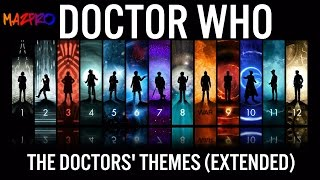 Doctor Who: The Doctor's Themes: 2,3,4,7,8,9,10,11,12, War (EXTENDED)