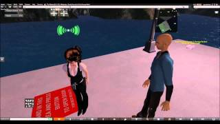 Second Life Trolling - The Officer