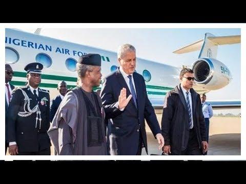 [NG News] Osinbajo jets out of nigeria