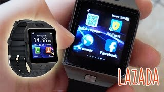 Lazada Smart Watch DZ09 Review