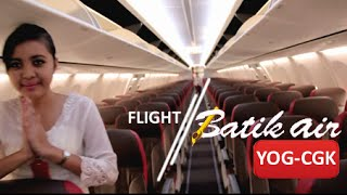 Batik Air Flight, Boeing 737-900ER | Yogyakarta - Jakarta