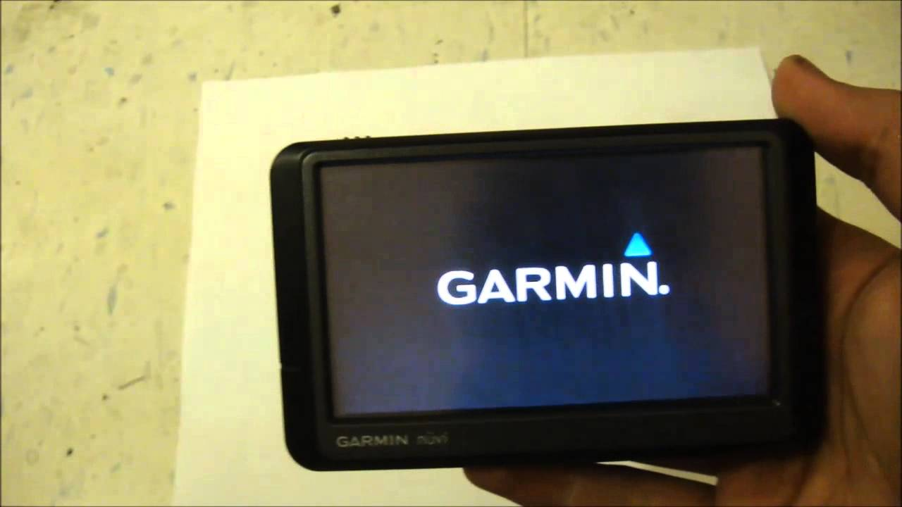 how to restore reset a garmin nuvi gps to factory settings youtube rh youtube com Garmin 205 Fitness Garmin GPS TomTom