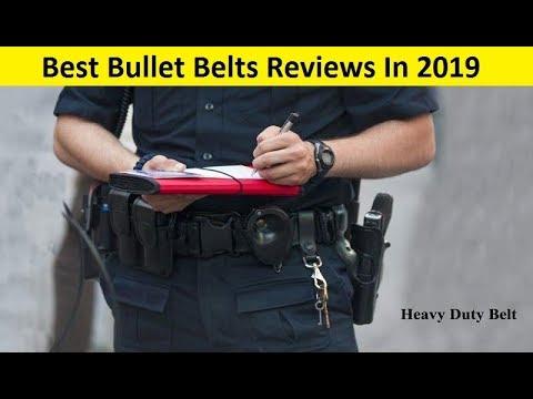Top 3 Best Bullet Belts Reviews In 2019