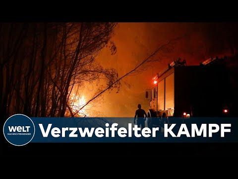 TÜRKEI, GRIECHENLAND UND ITALIEN: Brutale Hitzewelle und massive Waldbrände am östlichen Mittelmeer