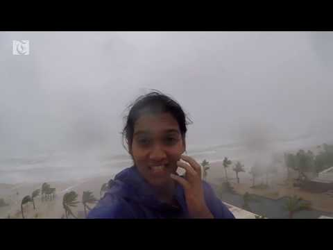 Heavy rains hit Salalah as Cyclone Mekunu approaches