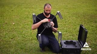 Review Técnico em campo Drone Spectral UAV - Drone para Mapeamento Aéreo com 1 hora de autonomia.