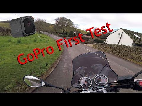 GoPro Session 5 First Test, Helmet Mount.