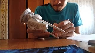 1# руки терминатор арм, эндоскелет. pepakura papercraft 1 часть