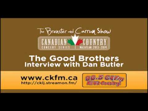 The Good Brothers Interview with Dan Butler