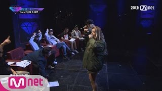 [Korean Reality Show UNPRETTY RAPSTAR2] Teamwork Battle l Kpop Rap Audition  EP.08
