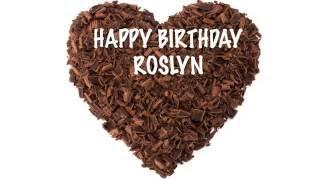 RoslynRozlyn Roslyn like Rozlyn  Chocolate - Happy Birthday