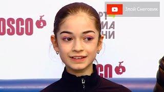 ЛУЧШИЙ ПРОКАТ Аделия Петросян Короткая Программа Кубок России 2020 Третий Этап
