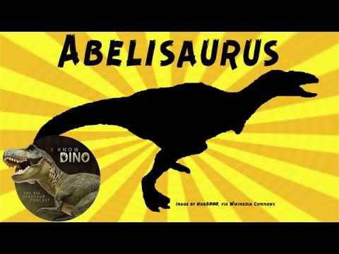 Abelisaurus: Dinosaur of the Day