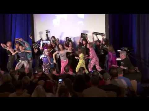 "Michael Jackson's ""Thriller"" Flashmob - Creating A Dynasty with Dani Johnson"
