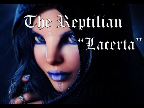 Meet Lacerta a real Reptilian, (Complete, Both Interviews)