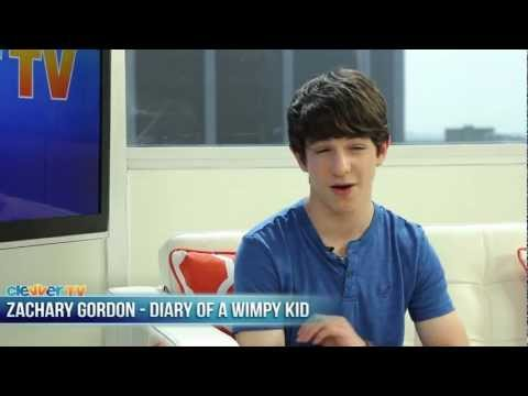 """Zachary Gordon Talks ""Diary of a Wimpy Kid: Dog Days"""""