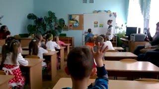 Украинский язык.  Дошкольная подготовка. Открытый урок. Часть 2