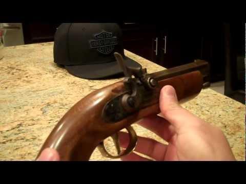 Dikar Spain .45 Caliber Black Powder Only Muzzleloader Pistol